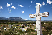 Pam Moore - Cemetery cross in...
