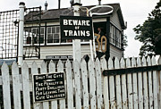 Signalman Photos - Cemmes Rd Signal Box Wales 1970s by David Davies