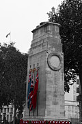 Standards Prints - Cenotaph Poppy Day  Print by David French