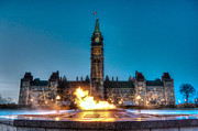 Joshua Mccullough Photography Prints - Centennial Flame Print by Joshua McCullough