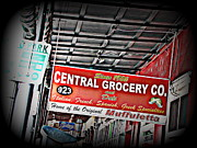 Italian Grocery Framed Prints - Central Grocery Co. Framed Print by Beth Vincent
