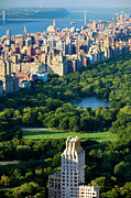 Central Framed Prints - Central Park Framed Print by Brian Jannsen