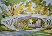 Margaret Montgomery - Central Park Footbridge...