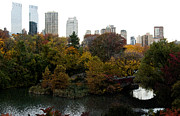 Louis Scotti - Central Park in Autumn