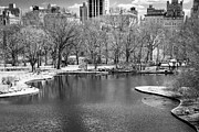 Central Park Skyline Prints - Central Park in IR Print by Alexander Mendoza