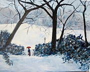 Central Park Originals - Central Park in Winter by Morris Eaddy