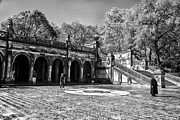 Landscapes Photo Prints - Central Park - near Bethesda Fountain Print by Madeline Ellis