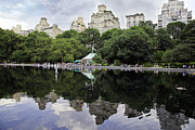 Central Park Prints - Central Park Reflections Print by Madeline Ellis