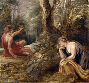 Famous Artists - Cephalus and Procris by Peter Paul Rubens