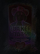 Quaker Digital Art Metal Prints - Cereal Metal Print by J Burns