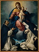 Catherine White Prints - Ceresa Carlo, Our Lady Of The Rosary Print by Everett