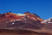 Desert Metal Prints - Cerro Nelly Volcano Metal Print by James Brunker