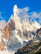 Roy Cruz Framed Prints - Cerro Torre Framed Print by JR Photography