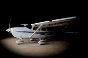 Cessna Photos - Cessna Waiting by Paul Job
