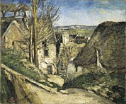 Auvers Sur Oise Prints - Cezanne, Paul 1839-1906. The House Print by Everett