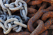 Anchor Photos - Chain Links by Carlos Caetano