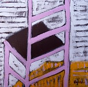 Chair Mixed Media Originals - Chair 1 by Daniel Hoglund