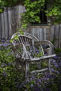 Debra and Dave Vanderlaan - Chair in the Garden