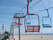 All - Chair Lift by Kathy Dahmen