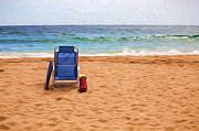 Sheila Smart - Chair on empty beach
