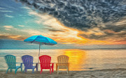 Brian Mollenkopf - Chairs Left on the Beach