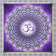Power Digital Art - Chakra Sahasrara I Series 2011 by Dirk Czarnota