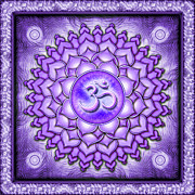 Crown Chakra Prints - Chakra Sahasrara Series 2010 Print by Dirk Czarnota