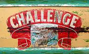 Challenge Print by Ron Regalado