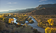 Chama River Prints - Chama River north of Abiquiu Print by Rudolf Winzinger