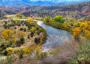 Chama River Prints - Chama River Overlook Print by Alan Toepfer
