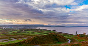 Espn Photo Prints - Chambers Bay Links Print by Ken Stanback