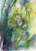 Ginette Fine Art LLC Ginette Callaway - Chamomile Botanical Watercolor