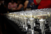 Champagne Glasses Photos - Champagne Train by Kyle Pompey