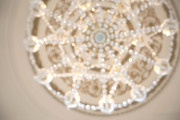 Chandelier Art - Champagne Wishes by Kelly Simpson