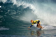 Kelly Slater Photos - Champion at Pipeline Masters  by Kevin Smith