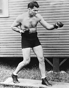 Heavyweight Boxers Prints - Champion Boxer Jack Dempsey Print by Underwood Archives
