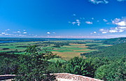 Gatineau Park Framed Prints - Champlain Lookout Framed Print by David Davies