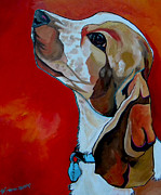 Dog Art Paintings - Chance by Patti Schermerhorn