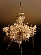 Fishing Sculpture Originals - Chandelier by Pendleton Malphrus