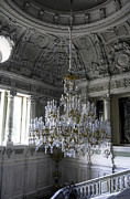 Dome Light Posters - Chandelier - Yusupov Palace - Russia Poster by Madeline Ellis