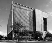 C H Apperson - Chandler City Hall BW