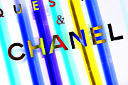 Fashionista Posters - Chanel Rave Poster by Lisa Eryn