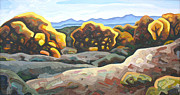 Abiquiu Paintings - Changing seasons by Dale Beckman