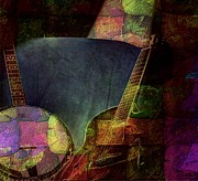 Pickin Digital Art Prints - Changing Tune by Steven Langston Print by Steven Lebron Langston