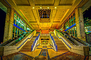 Escalator Prints - Channel Entry Print by Marvin Spates