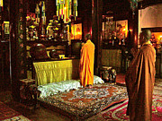 Chanting Prints - Chanting Buddhist Monks in Tu Hieu Pagoda near Hue-Vietnam Print by Ruth Hager