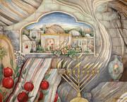 Chanukah Print by Michoel Muchnik