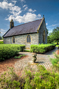 Walkway Digital Art - Chapel 17th Century  by Adrian Evans