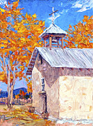 Steven Boone Art - Chapel At Ojo Claiente by Steven Boone