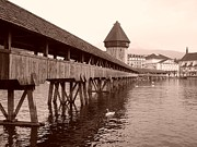 Lucerne Originals - Chapel Bridge by Mark Honn